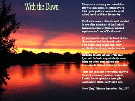 With the Dawn