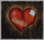 Patched heart